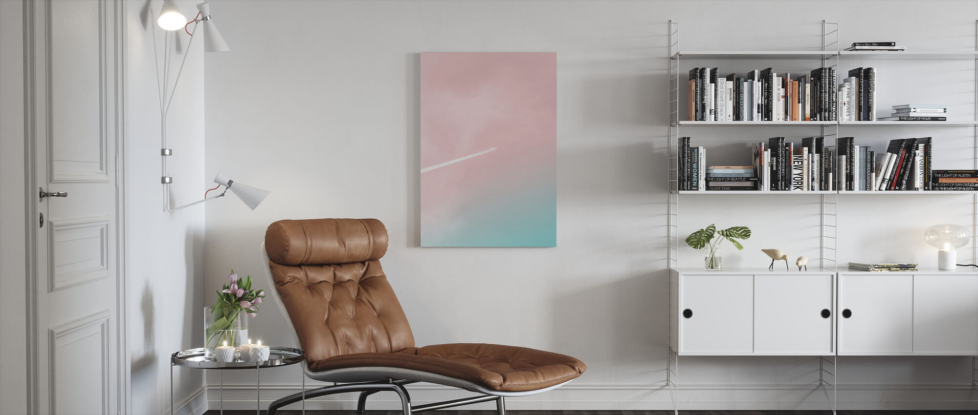 To the Top - Canvas print - Living Room