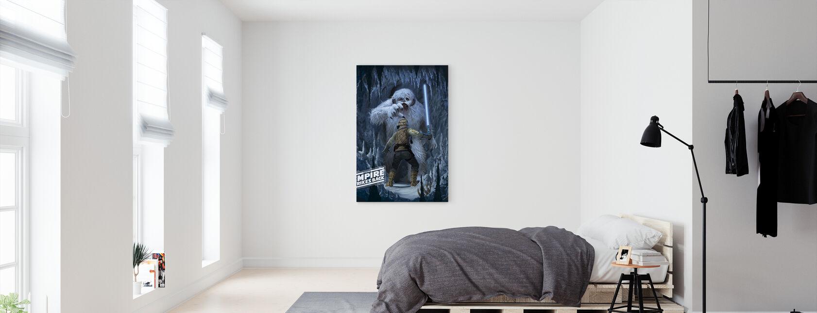 Wampa Cave - Canvas print - Bedroom