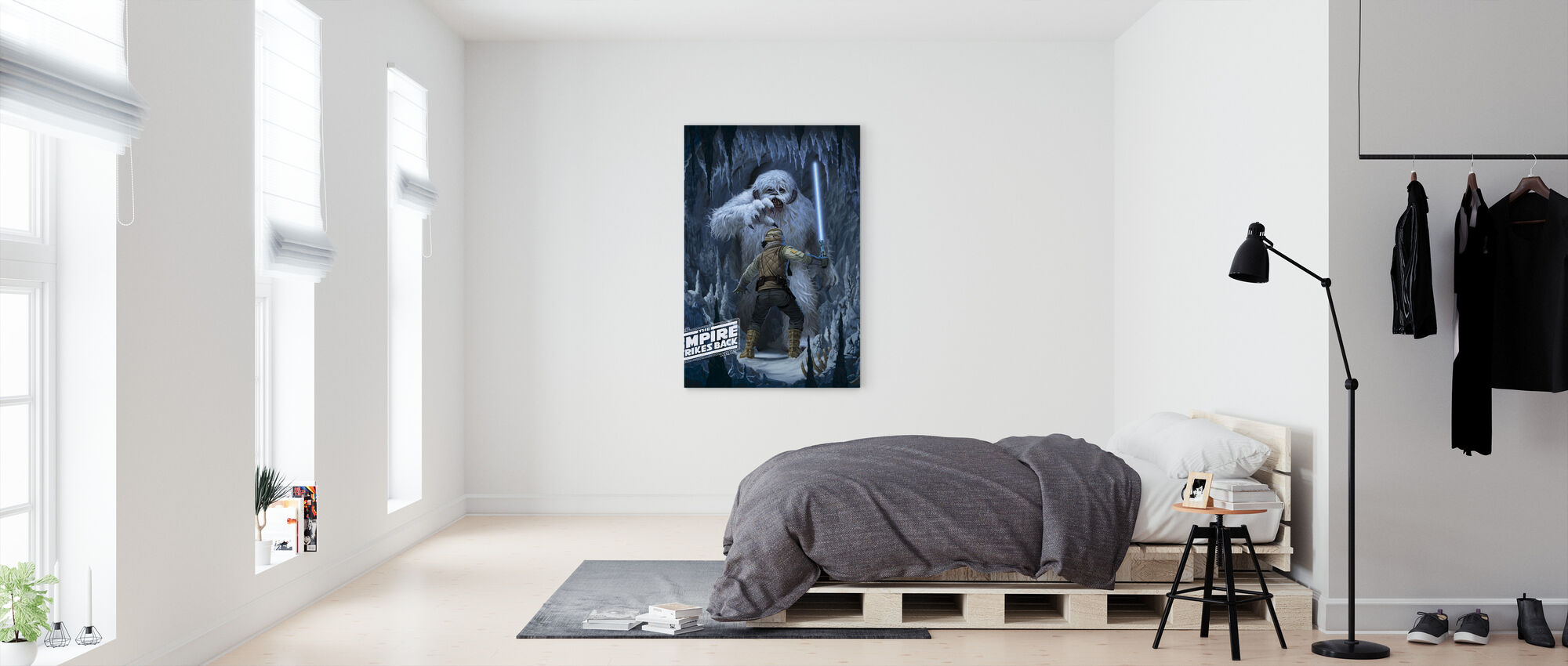 Wampa Grot - Canvas print - Slaapkamer