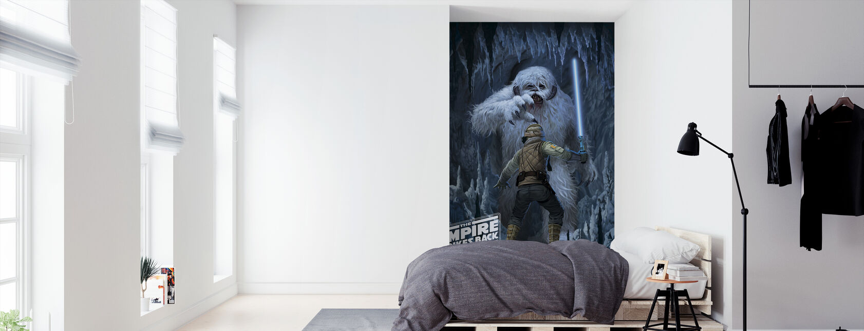 Wampa Cave - Wallpaper - Bedroom