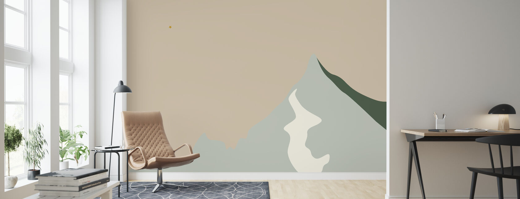 The summit - Wallpaper - Living Room