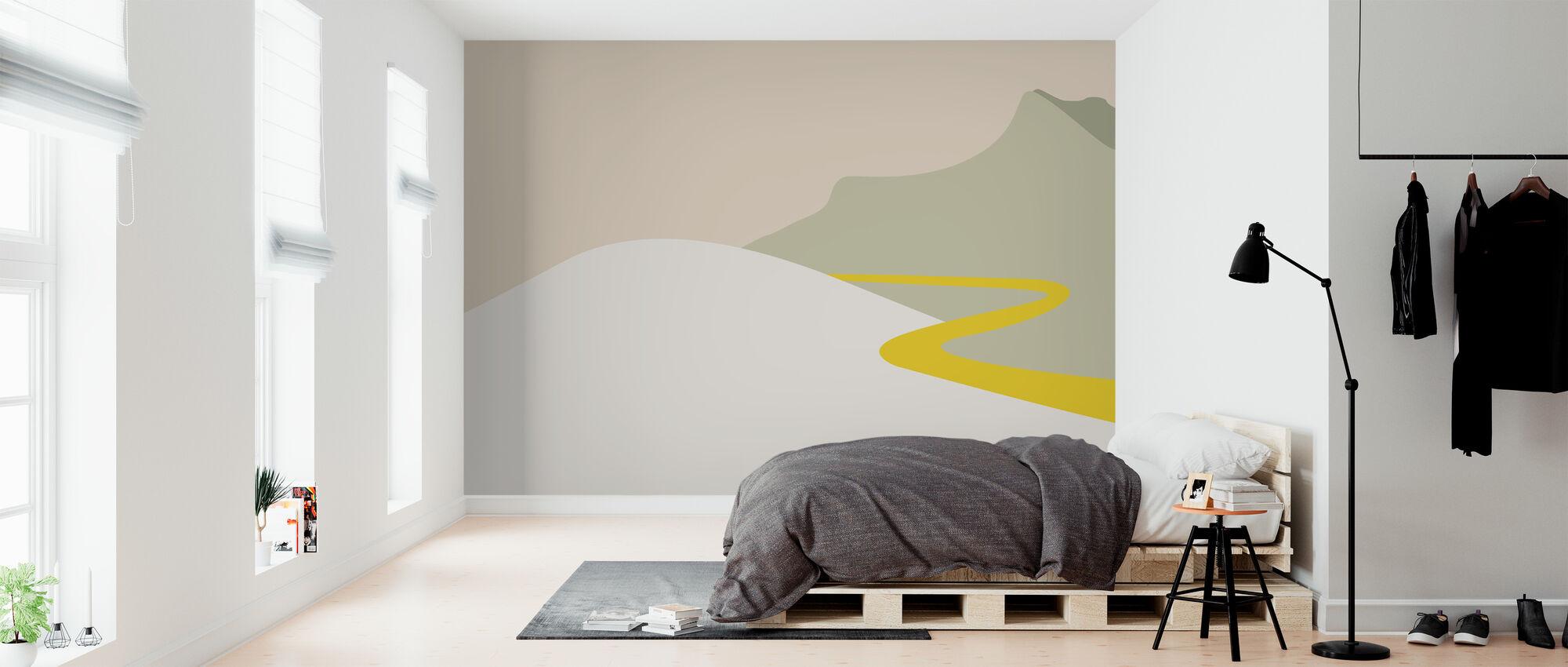 Ich reise - Tapete - Schlafzimmer