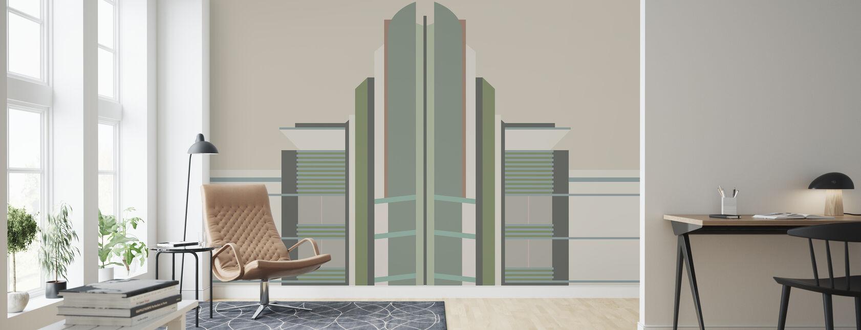 Deco - 01 - Wallpaper - Living Room