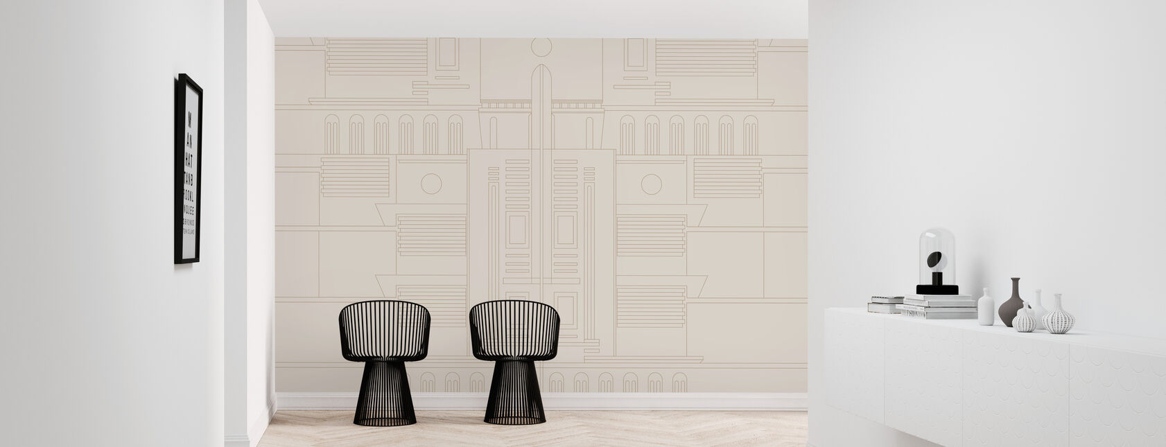 Deco - 04 - Wallpaper - Hallway