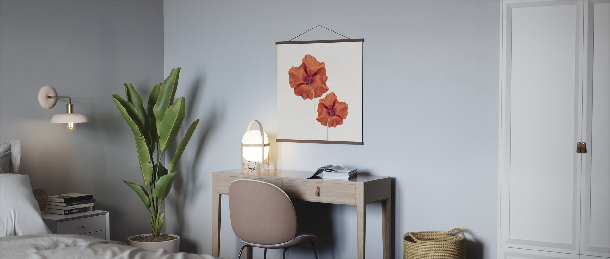 Two Poppies - Poster - Office
