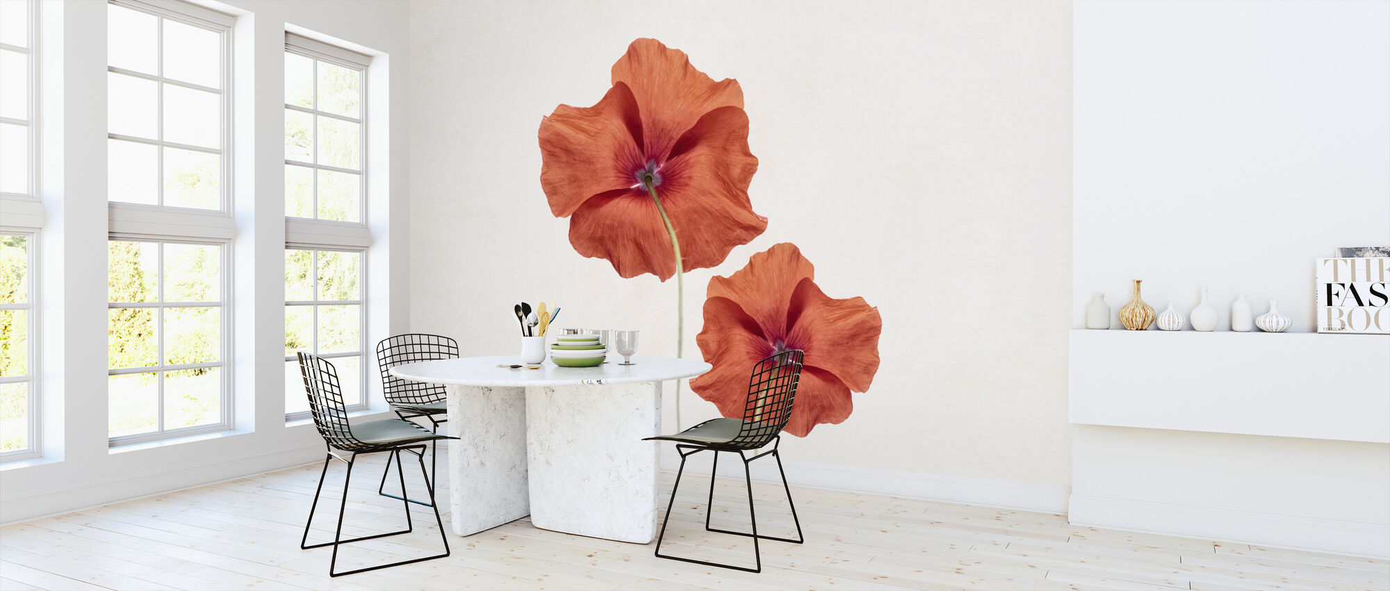 Two Poppies - Wallpaper - Kitchen
