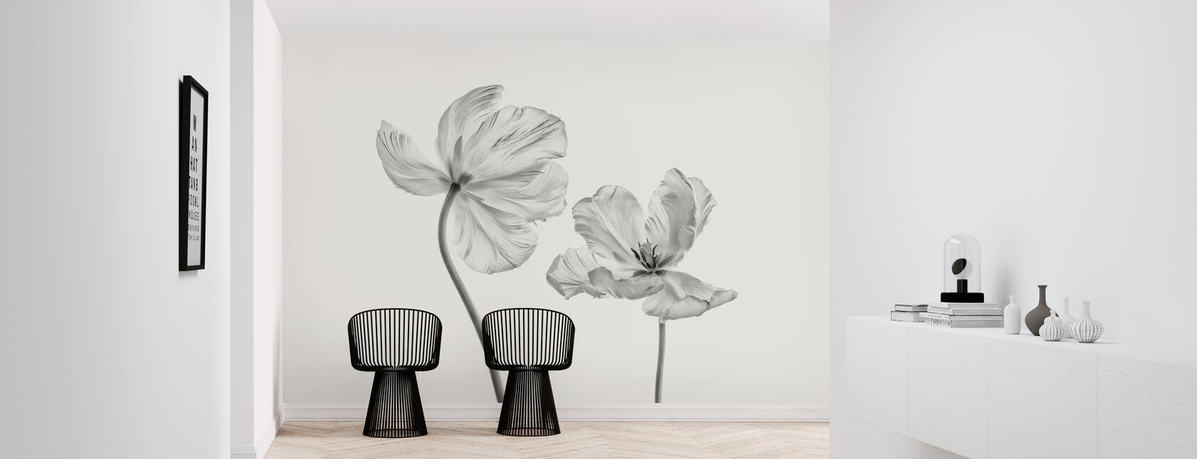 Same Tulip - Wallpaper - Hallway