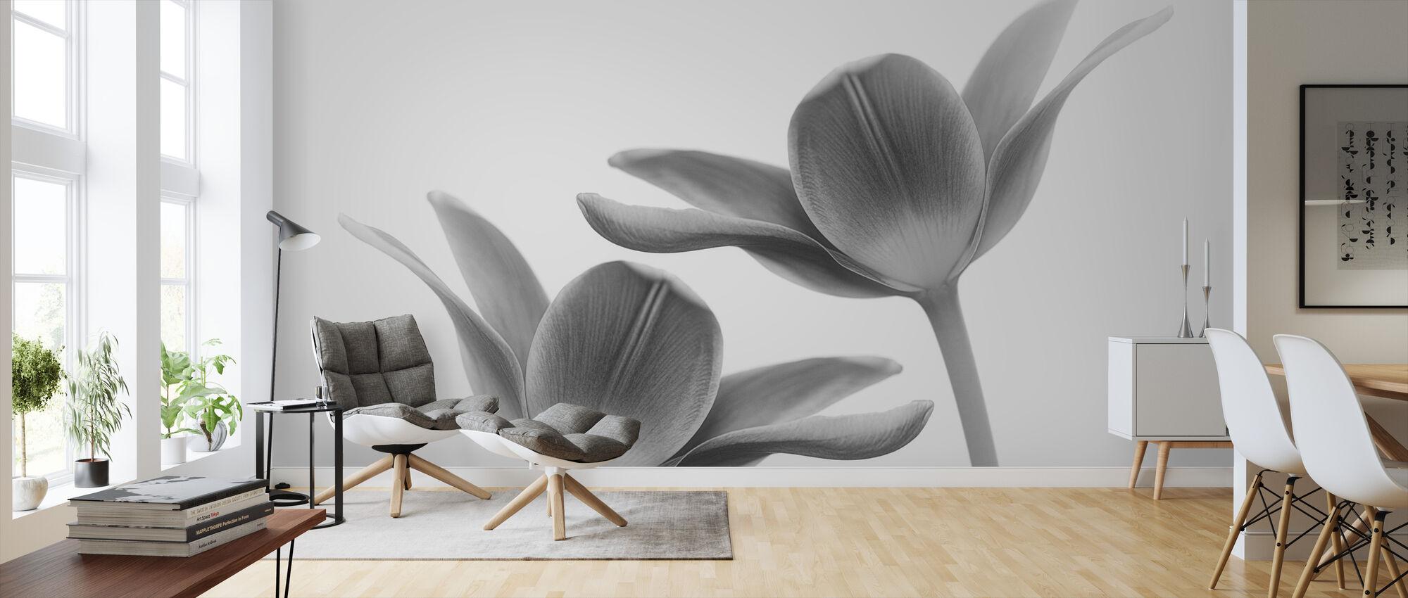 Twice the Same - Wallpaper - Living Room