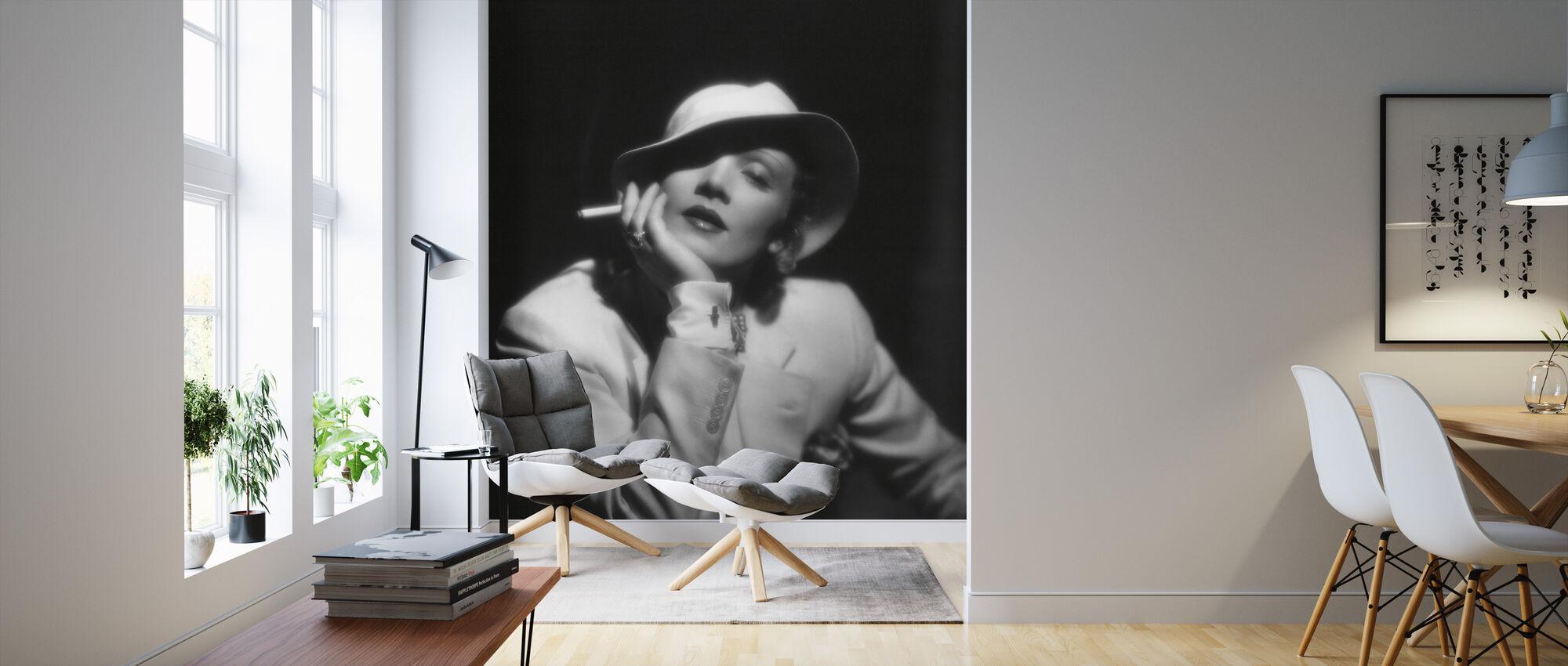 Devils is a Woman - Marlene Dietrich - Wallpaper - Living Room
