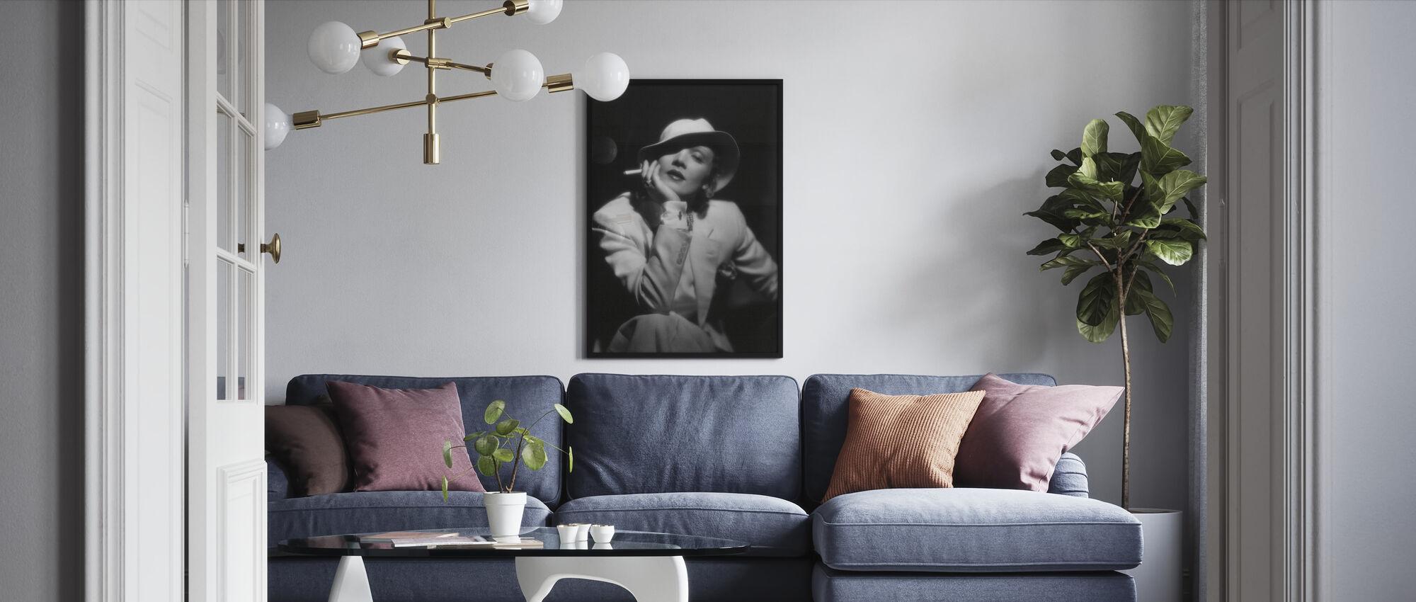 Devils er en kvinne - Marlene Dietrich - Innrammet bilde - Stue