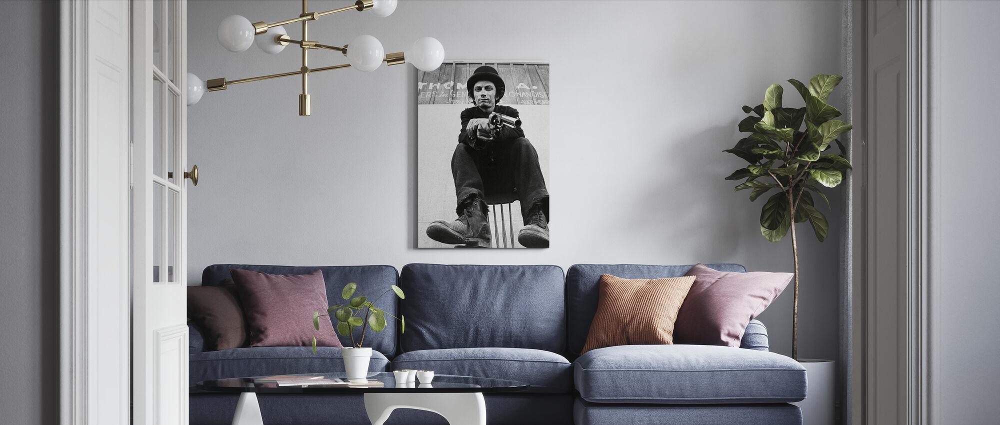 Dirty Little Billy - Michael Pollard - Canvas print - Living Room
