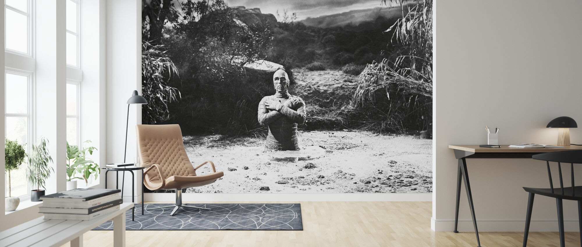 Mummy - Christopher Lee - Wallpaper - Living Room