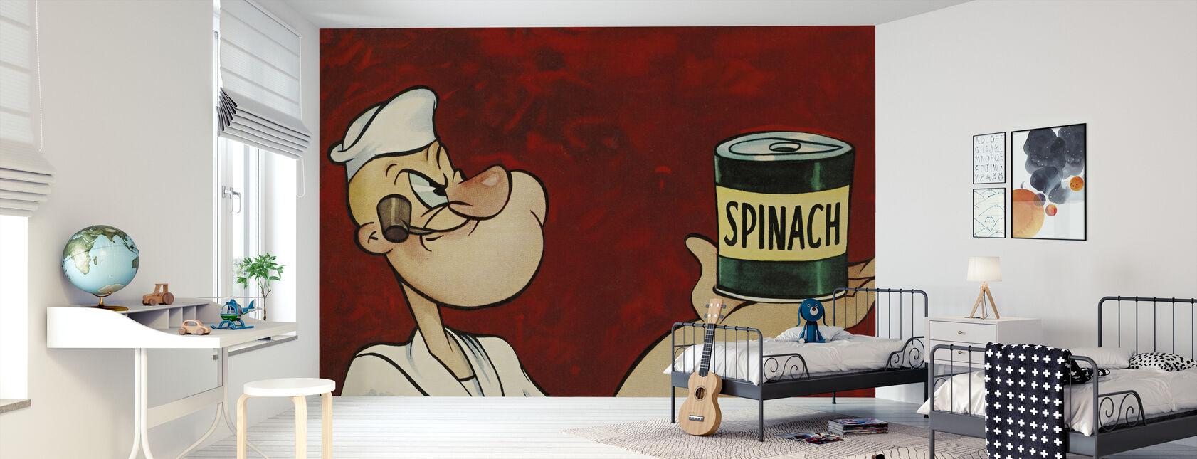 Popeye the Sailor - Wallpaper - Kids Room