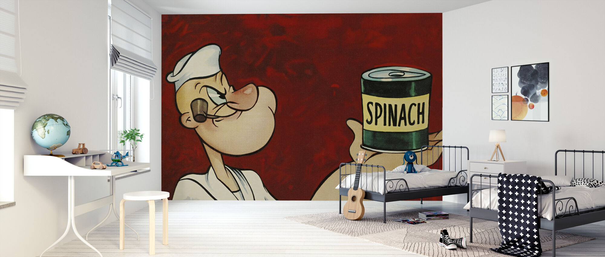 Popeye the Sailor - Wallpaper - Kids Room