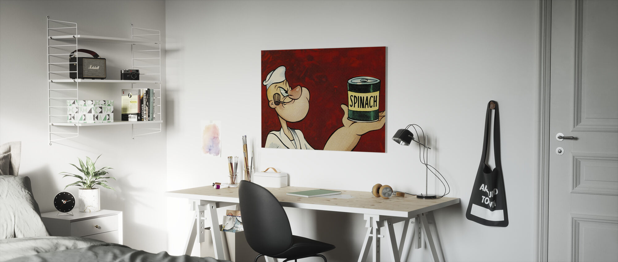 Popeye the Sailor - Canvas print - Kids Room