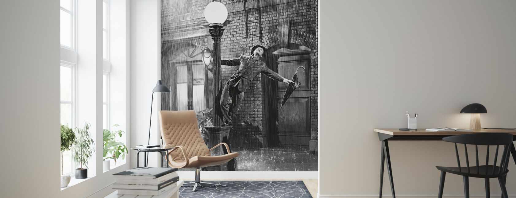 Singing - Gene Kelly - Wallpaper - Living Room