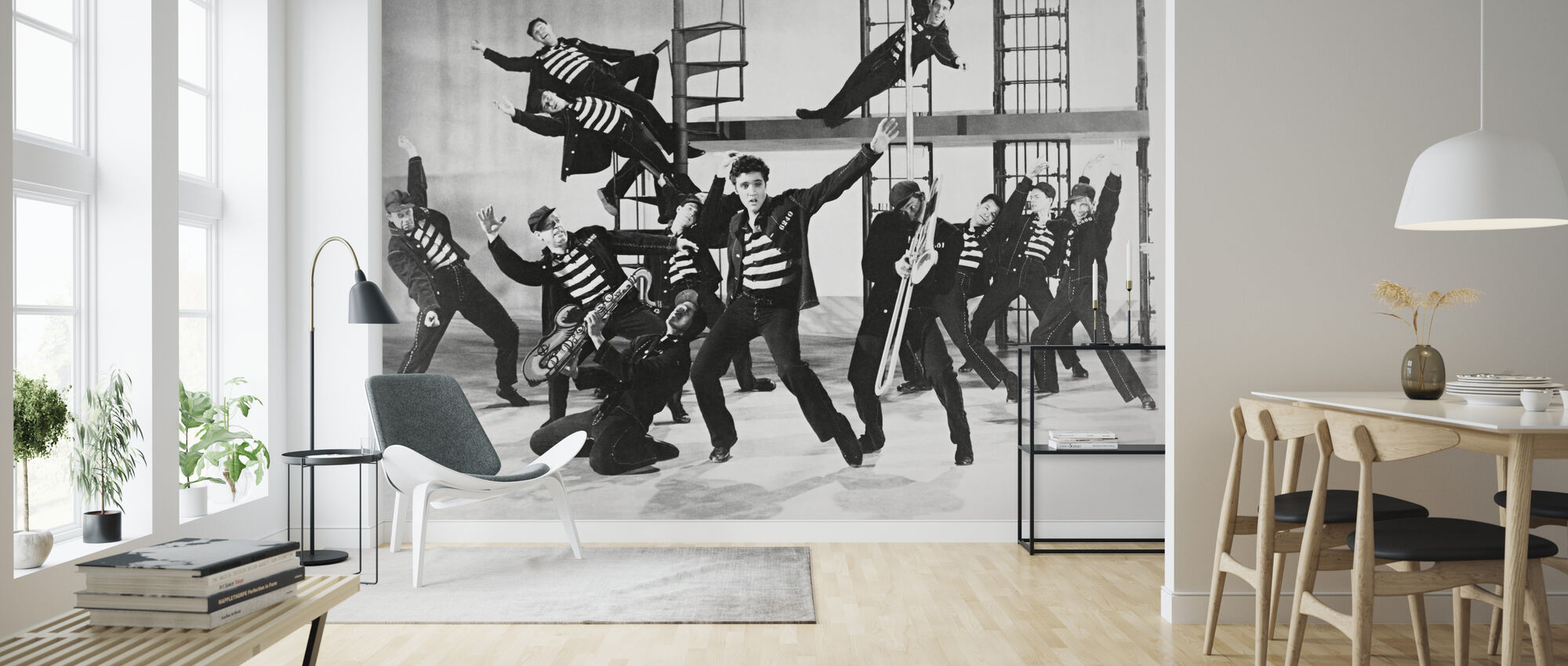 Jailhouse Rock - Elvis Presley - Wallpaper - Living Room