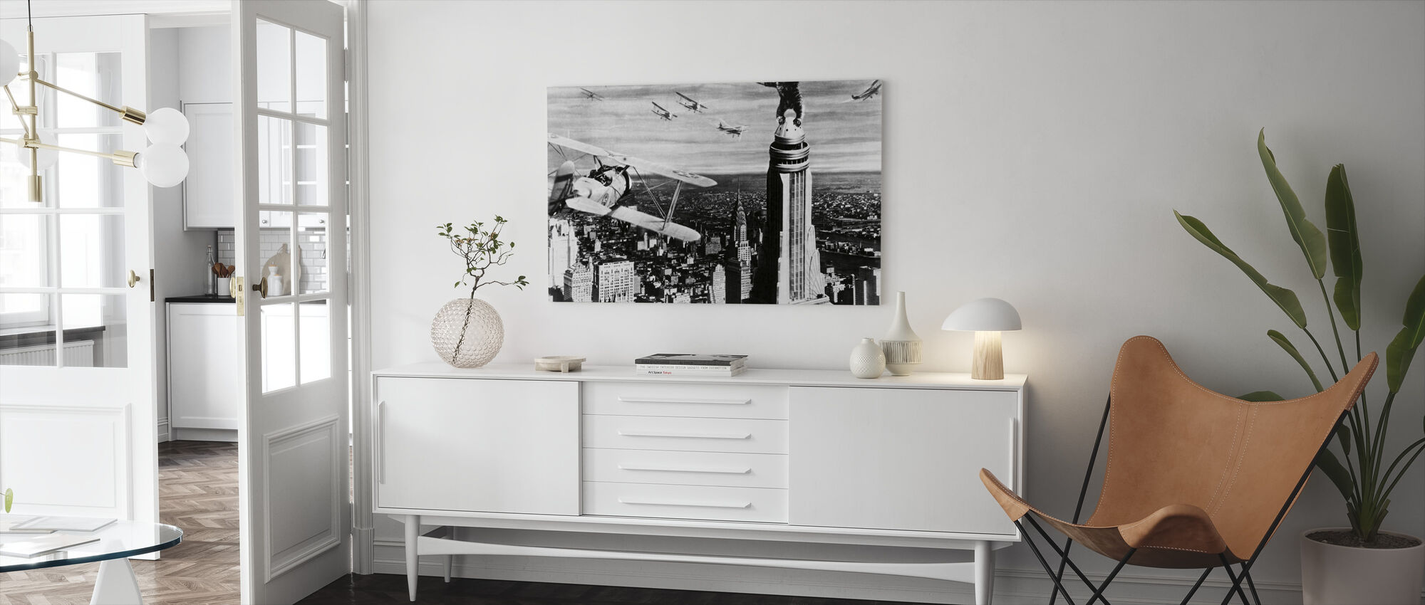 King Kong - Canvas print - Living Room