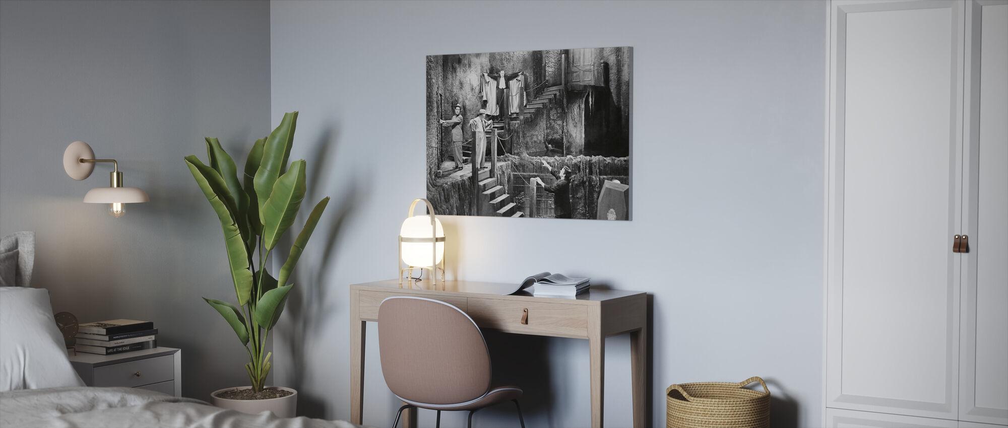 Frankenstein - Lerretsbilde - Kontor