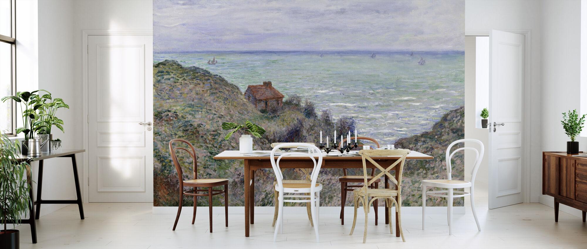 Hytte - Claude Monet - Tapet - Kjøkken
