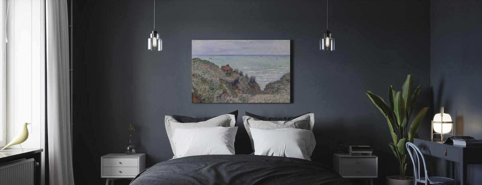 Hütte - Claude Monet - Leinwandbild - Schlafzimmer