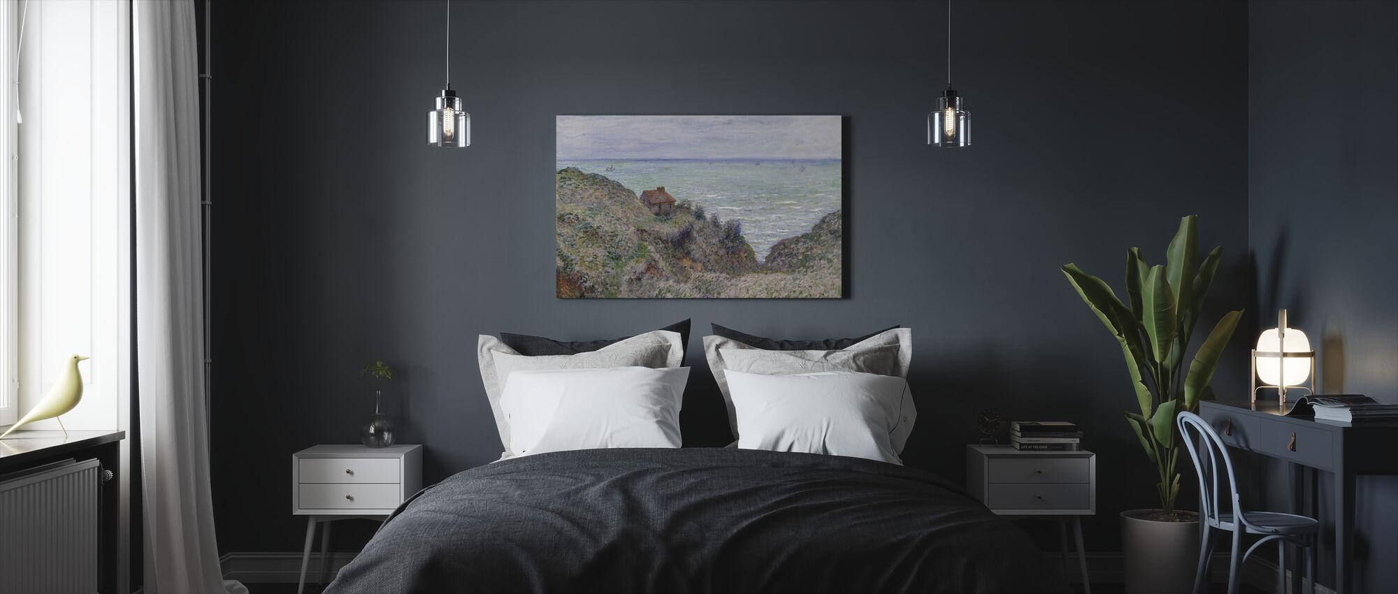 Cabin - Claude Monet - Canvas print - Bedroom