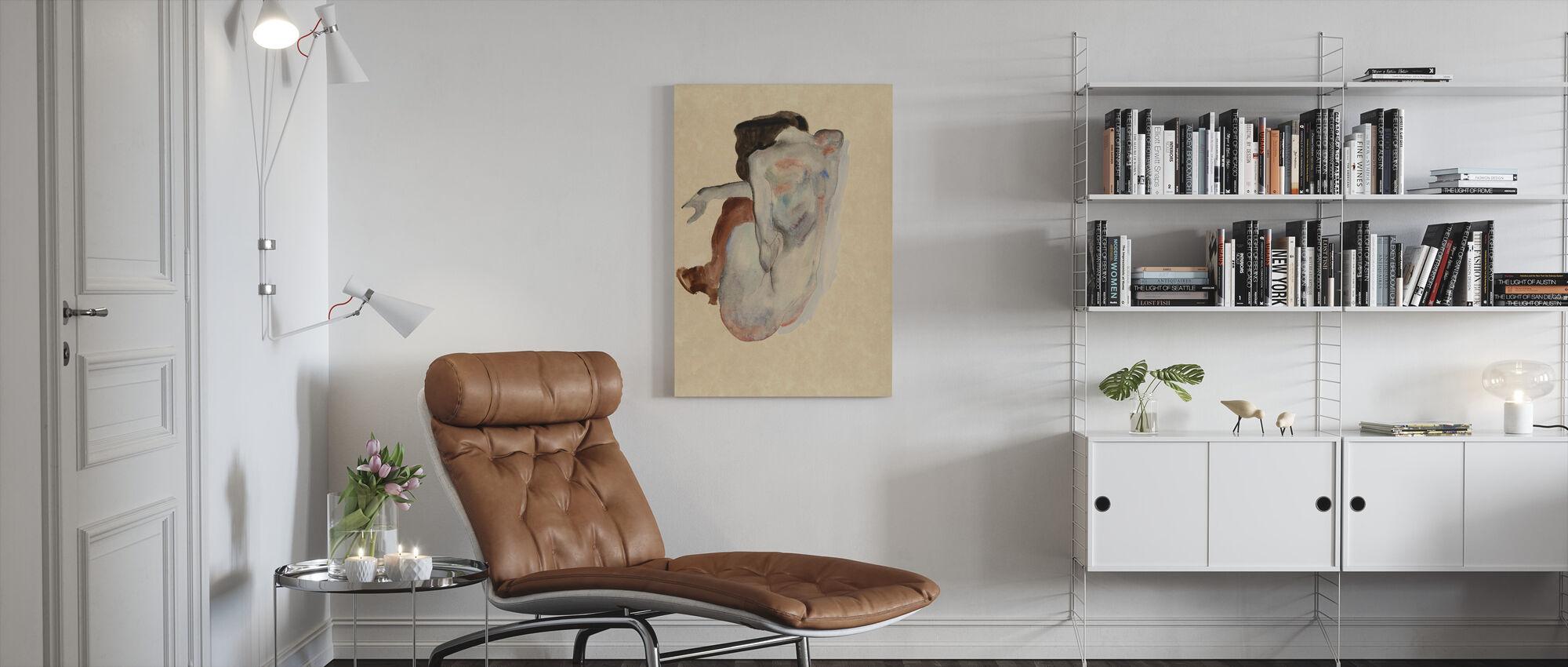 Kroker Naken - Egon Schiele - Lerretsbilde - Stue