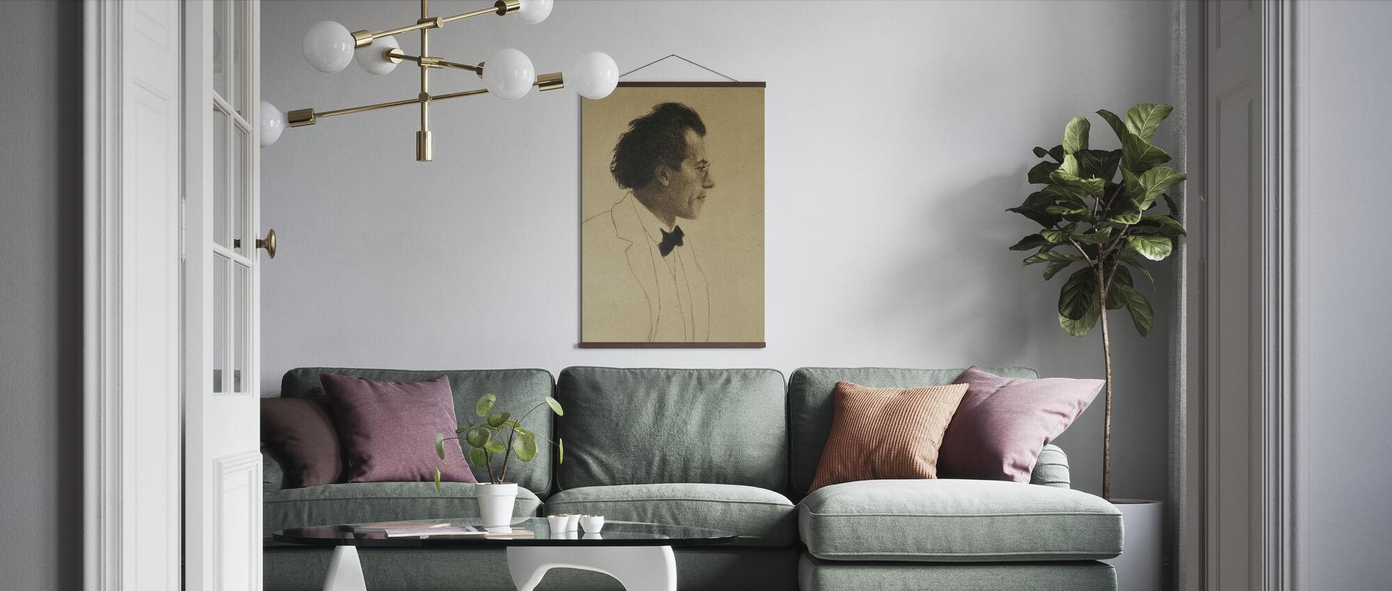 Gustav Mahler - Poster - Living Room