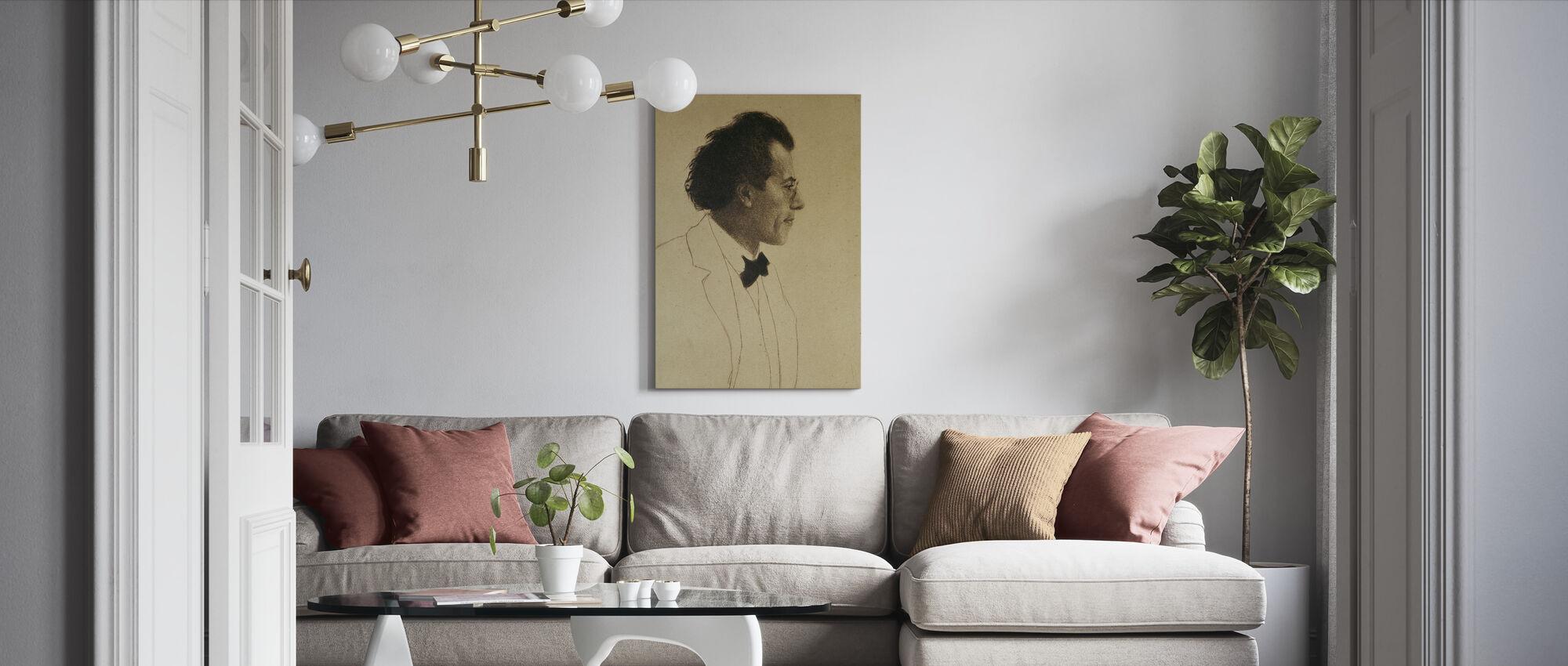Gustav Mahler - Canvas print - Woonkamer