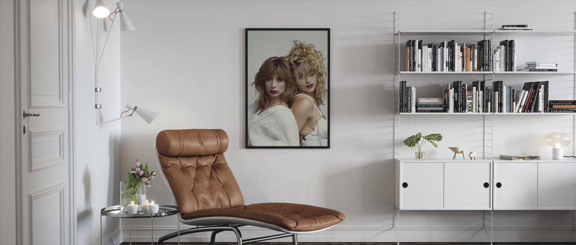 Desperately Seeking Susan - Madonna - Framed print - Living Room