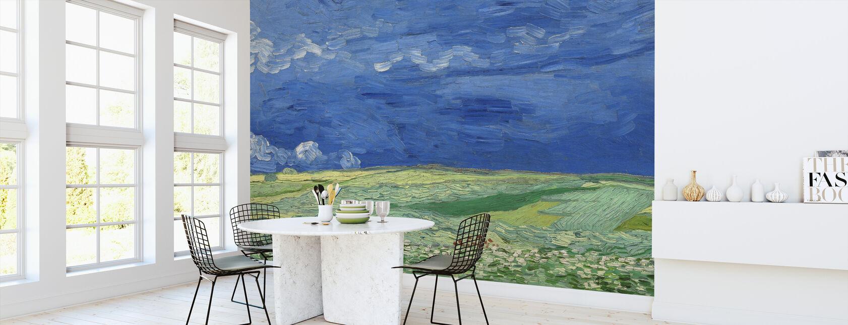 Wheatfield - Vincent Van Gogh - Wallpaper - Kitchen