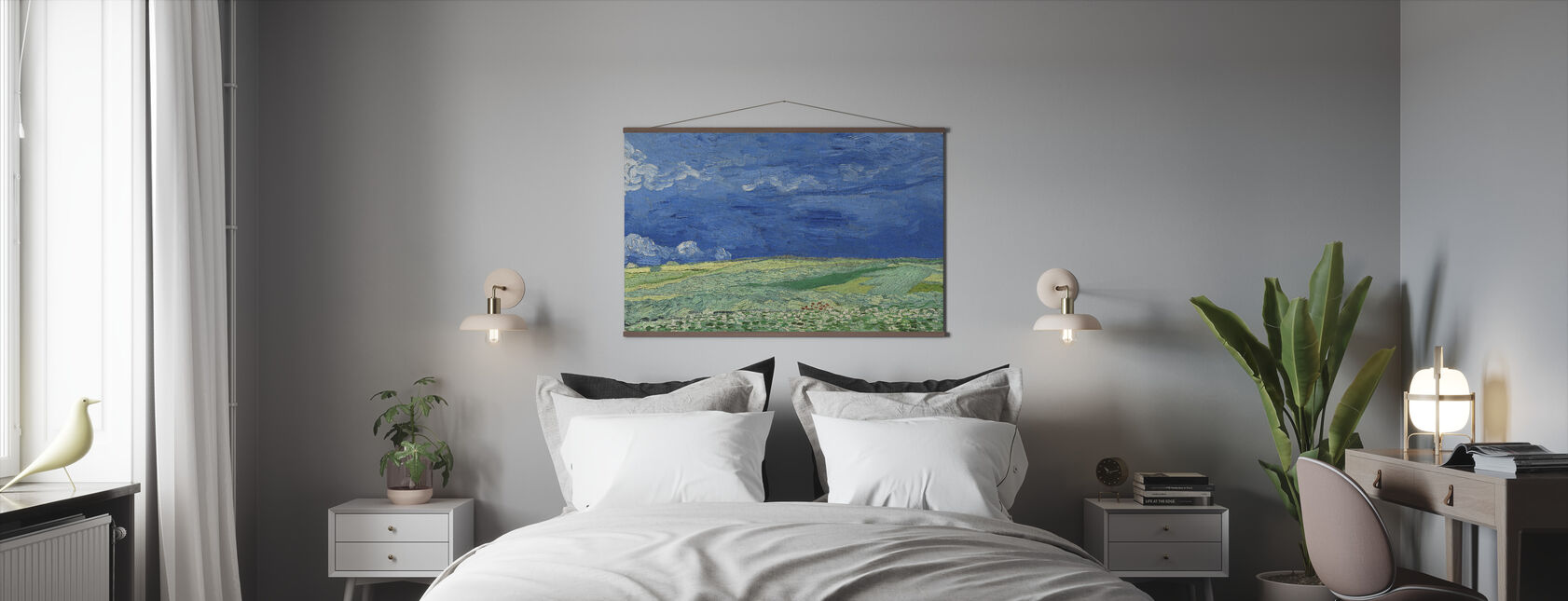 Wheatfield - Vincent Van Gogh - Poster - Bedroom