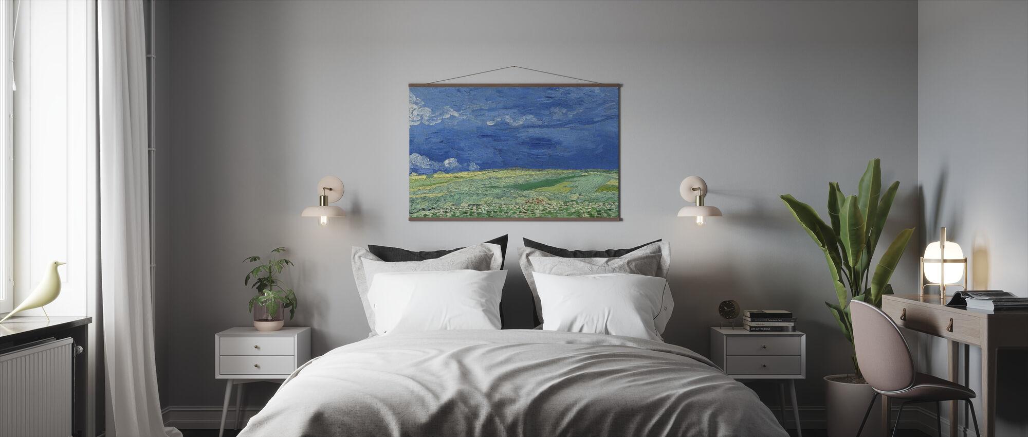 Wheatfield - Vincent Van Gogh - Poster - Sovrum
