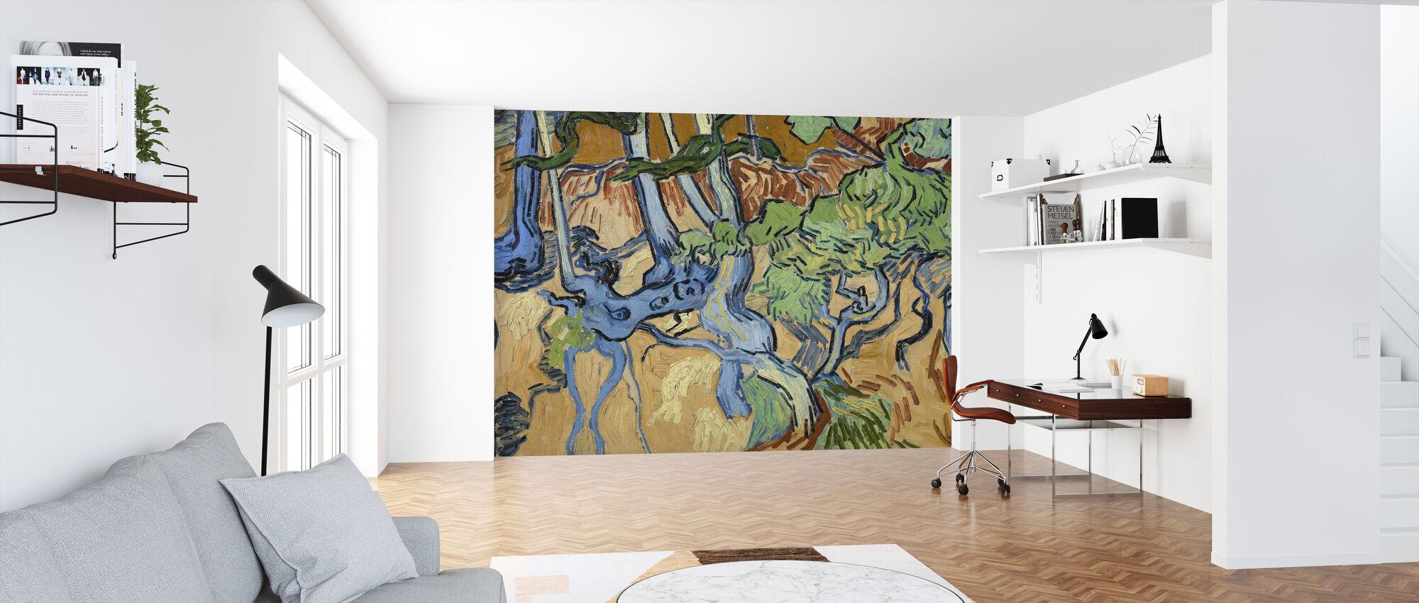 Rötter - Vincent Van Gogh - Tapet - Kontor