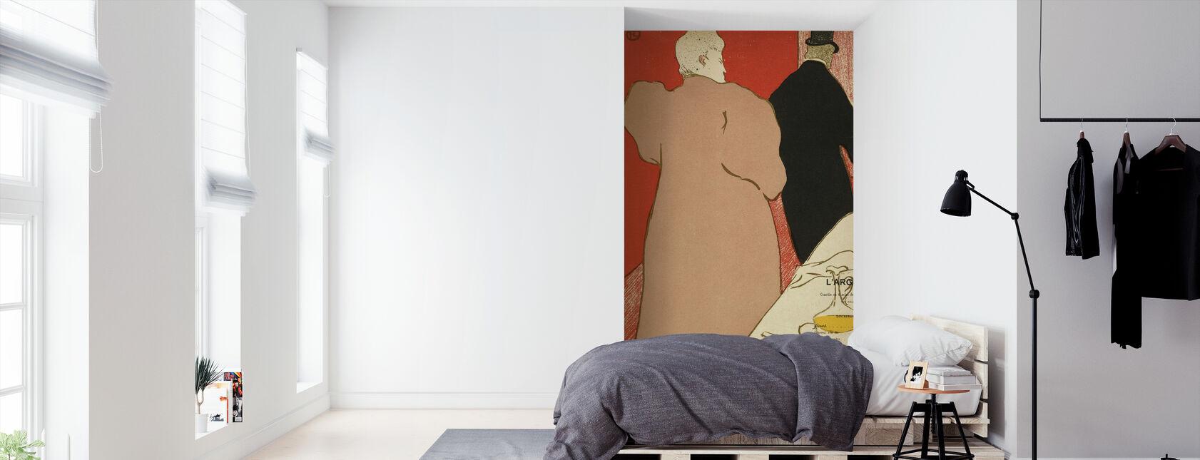 The Silver - Emile Fabre - Wallpaper - Bedroom