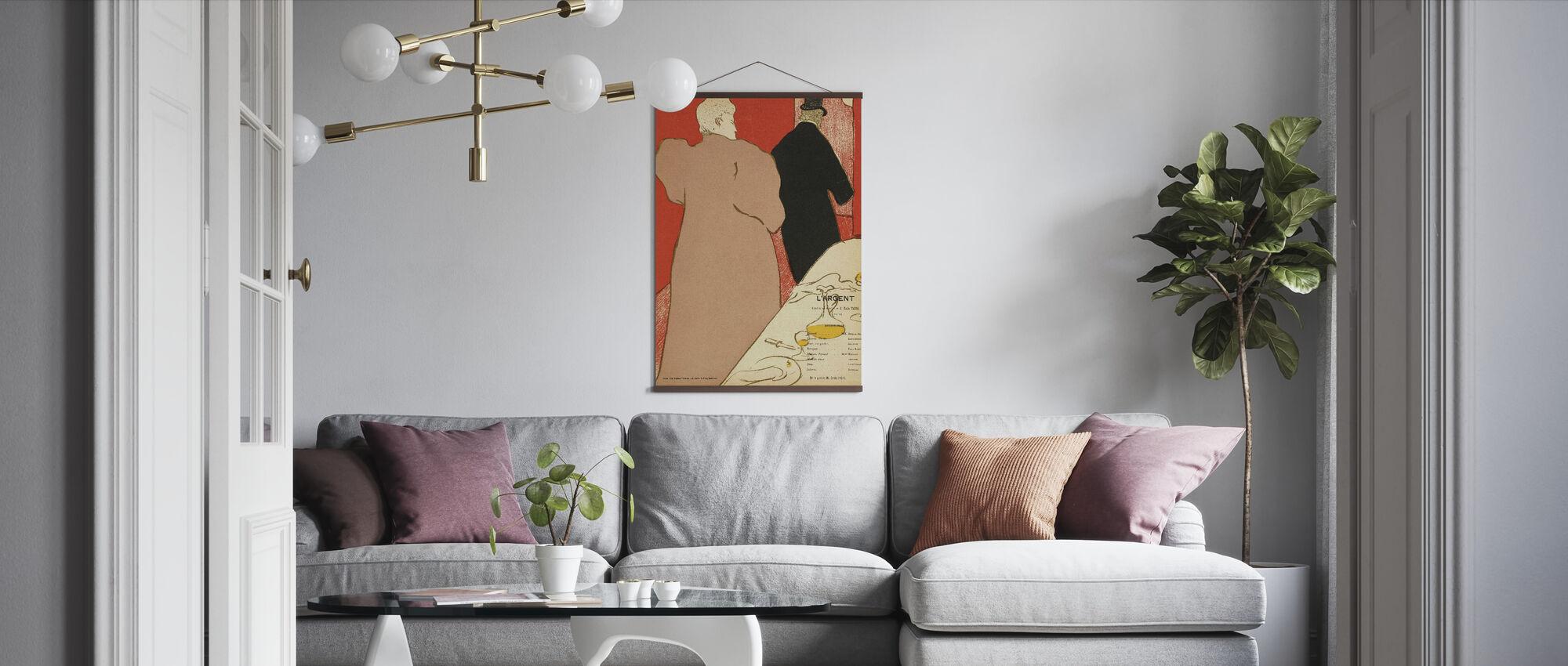 Silver - Emile Fabre - Poster - Vardagsrum