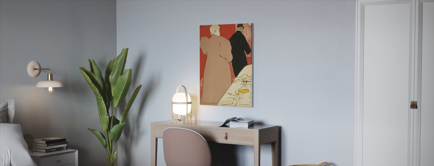 The Silver - Emile Fabre - Canvas print - Office