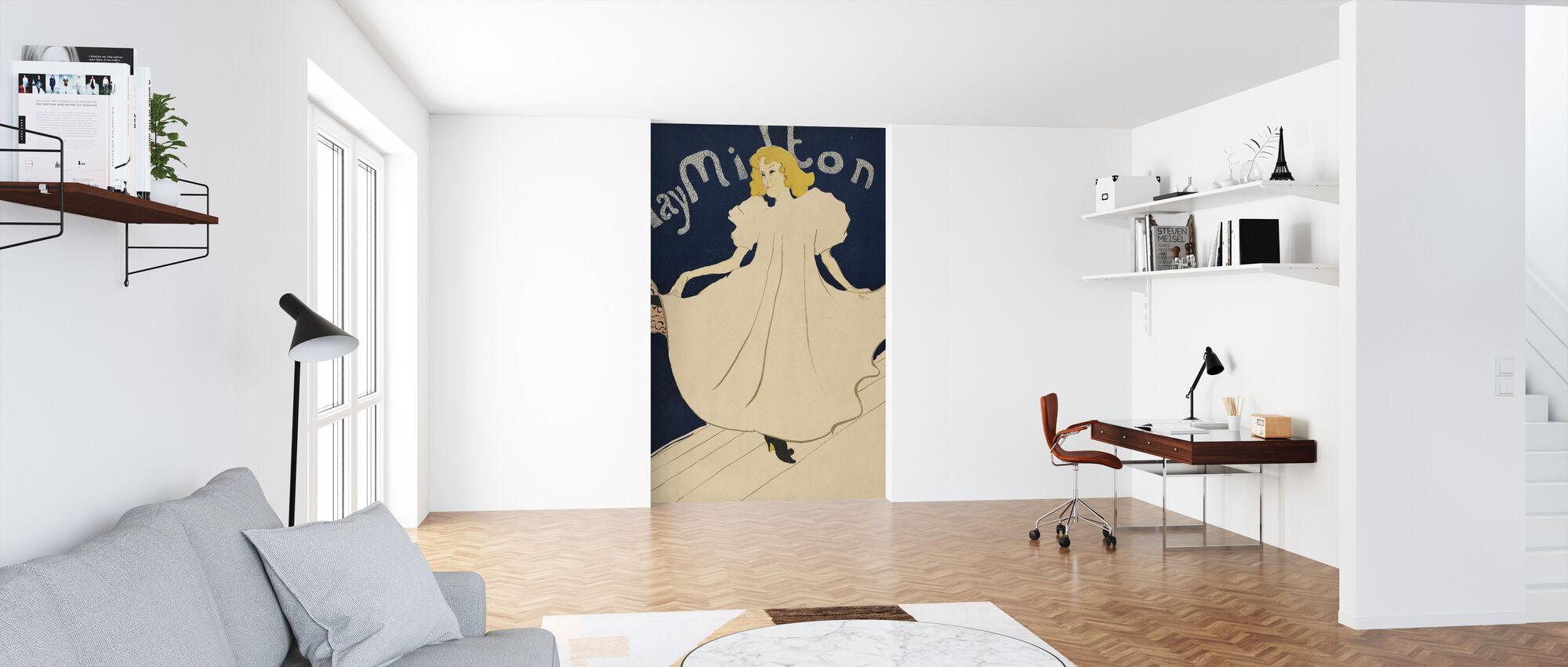 May Milton - Henri de Toulouse-Lautrec - Wallpaper - Office
