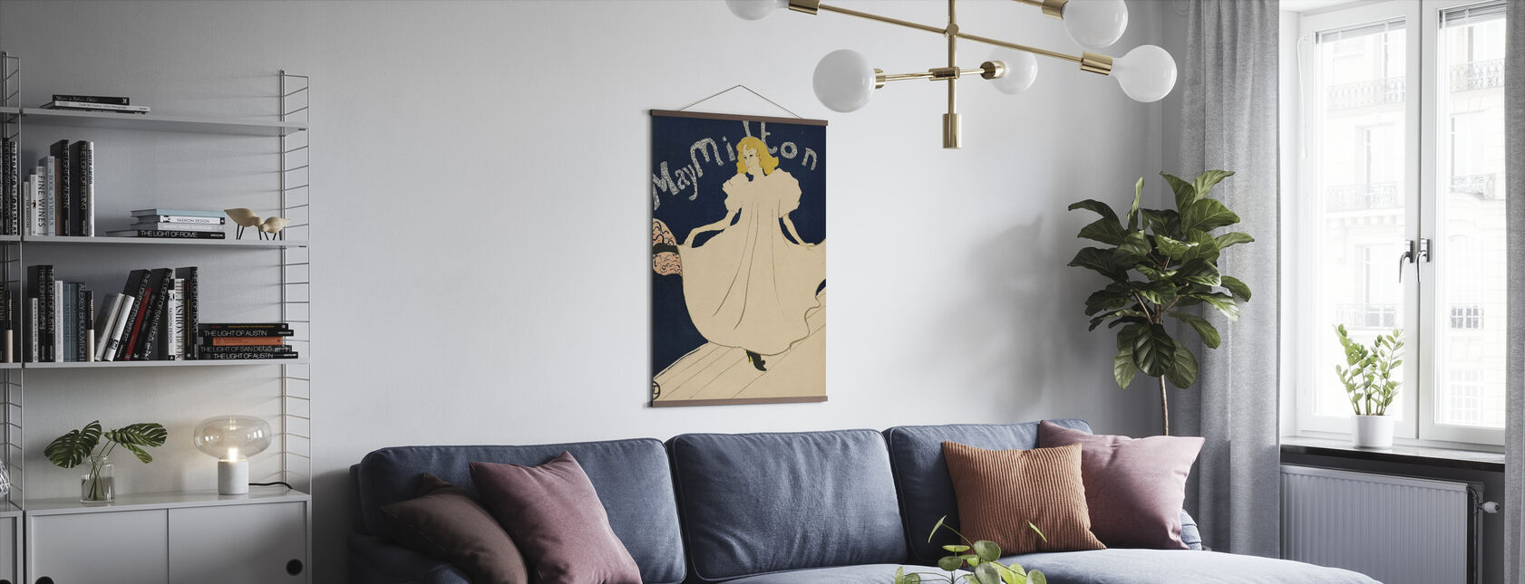Mai Milton - Henri de Toulouse Lautrec - Juliste - Olohuone