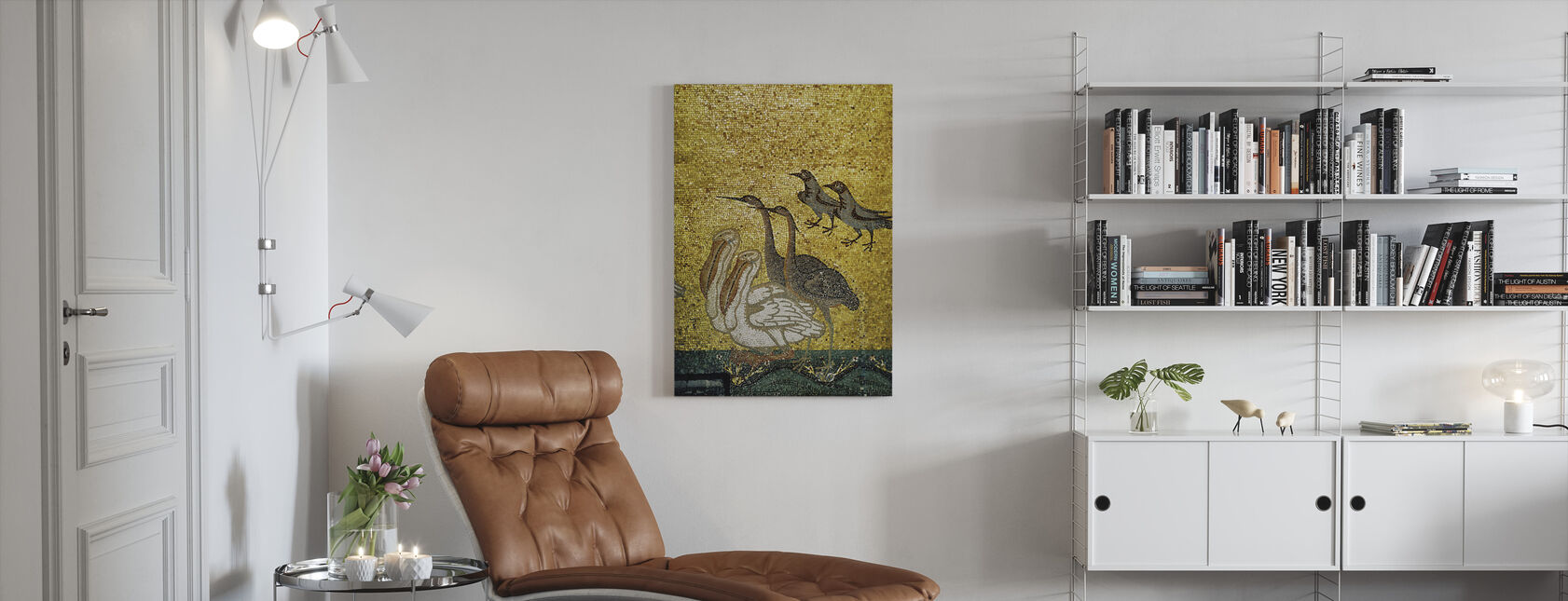 Various Birds - Canvas print - Living Room