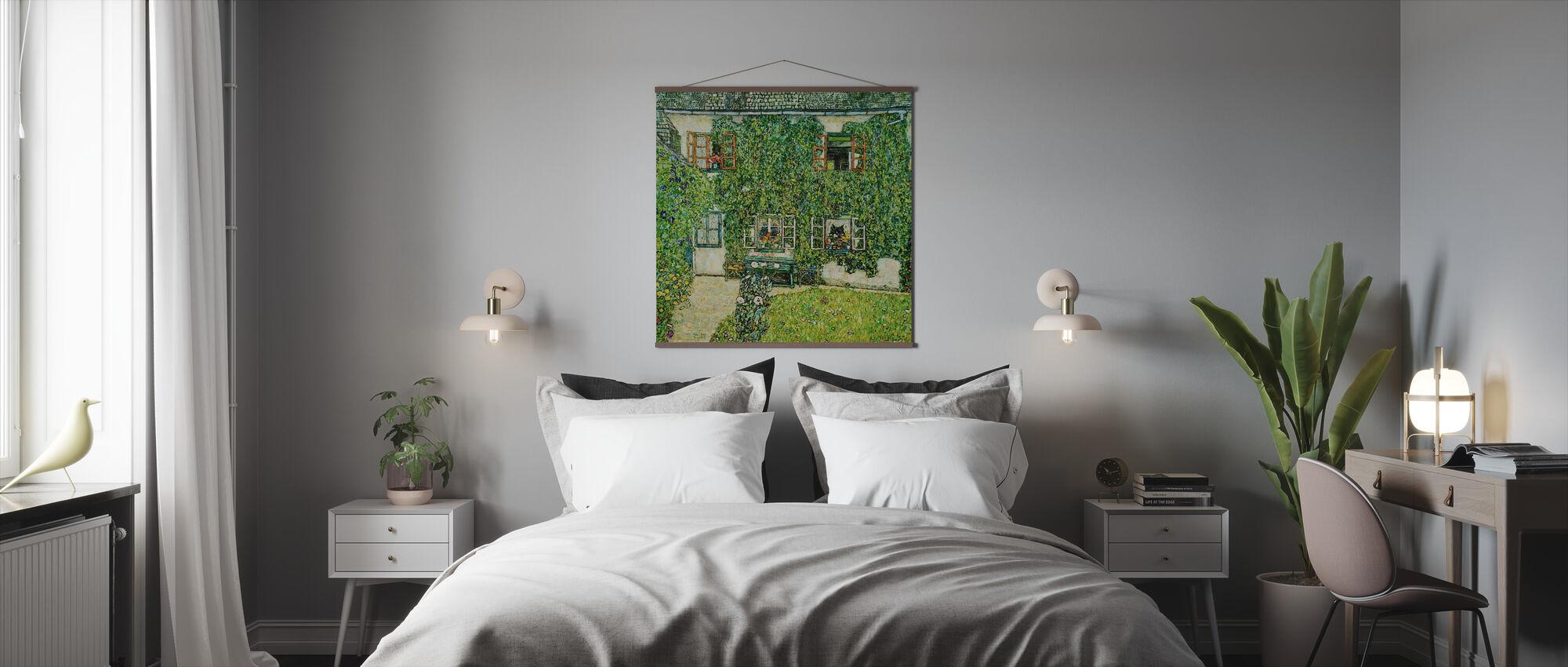 Skogshus - Gustav Klimt - Poster - Sovrum