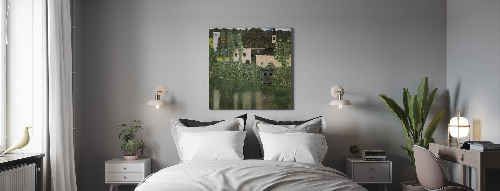 Water Castle - Gustav Klimt - Canvas print - Bedroom