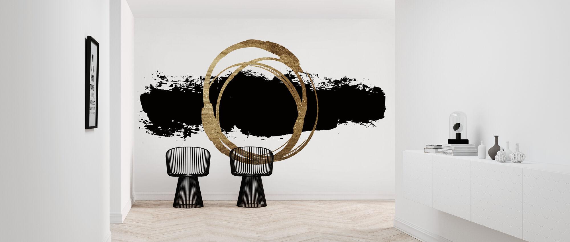 Circle and Line - Wallpaper - Hallway