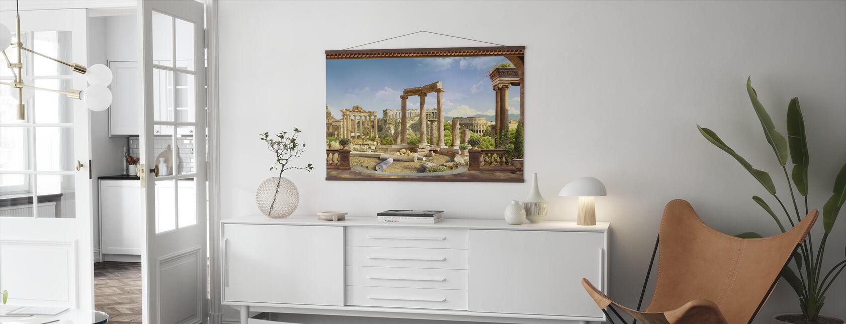Altes Rom - Poster - Wohnzimmer