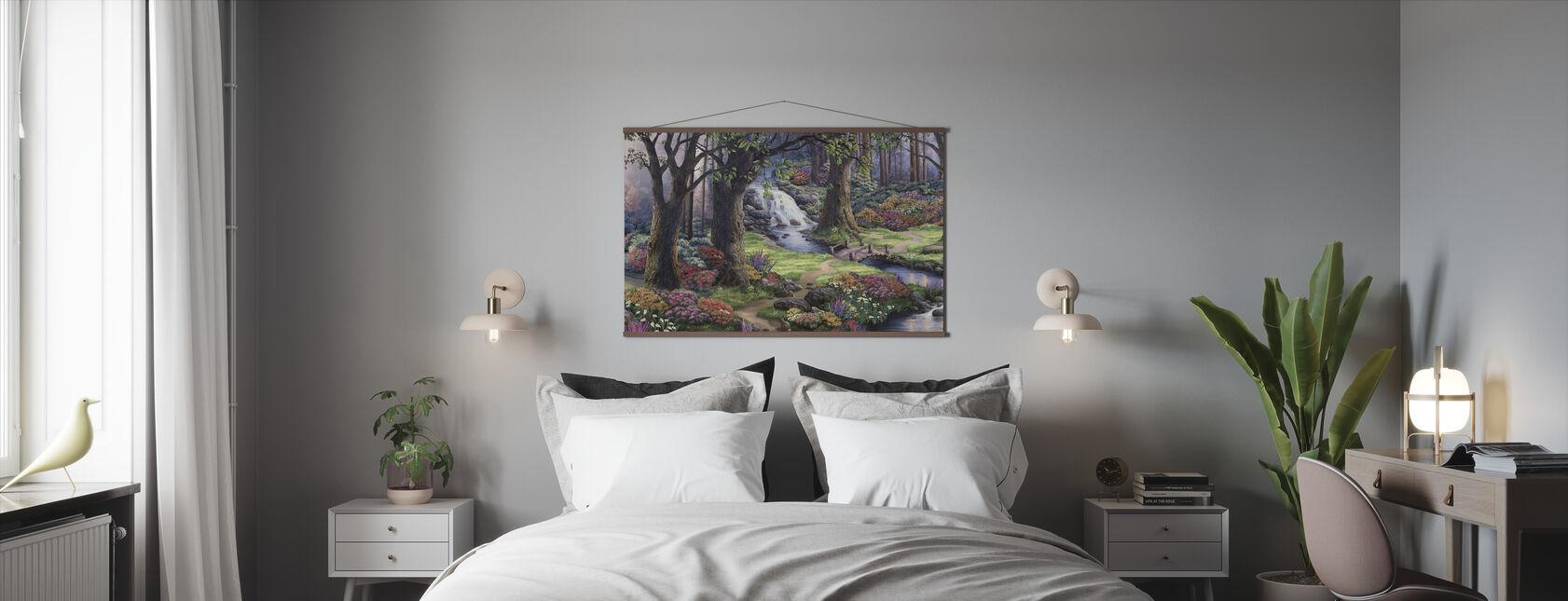 Drømmende landskab - Plakat - Soveværelse