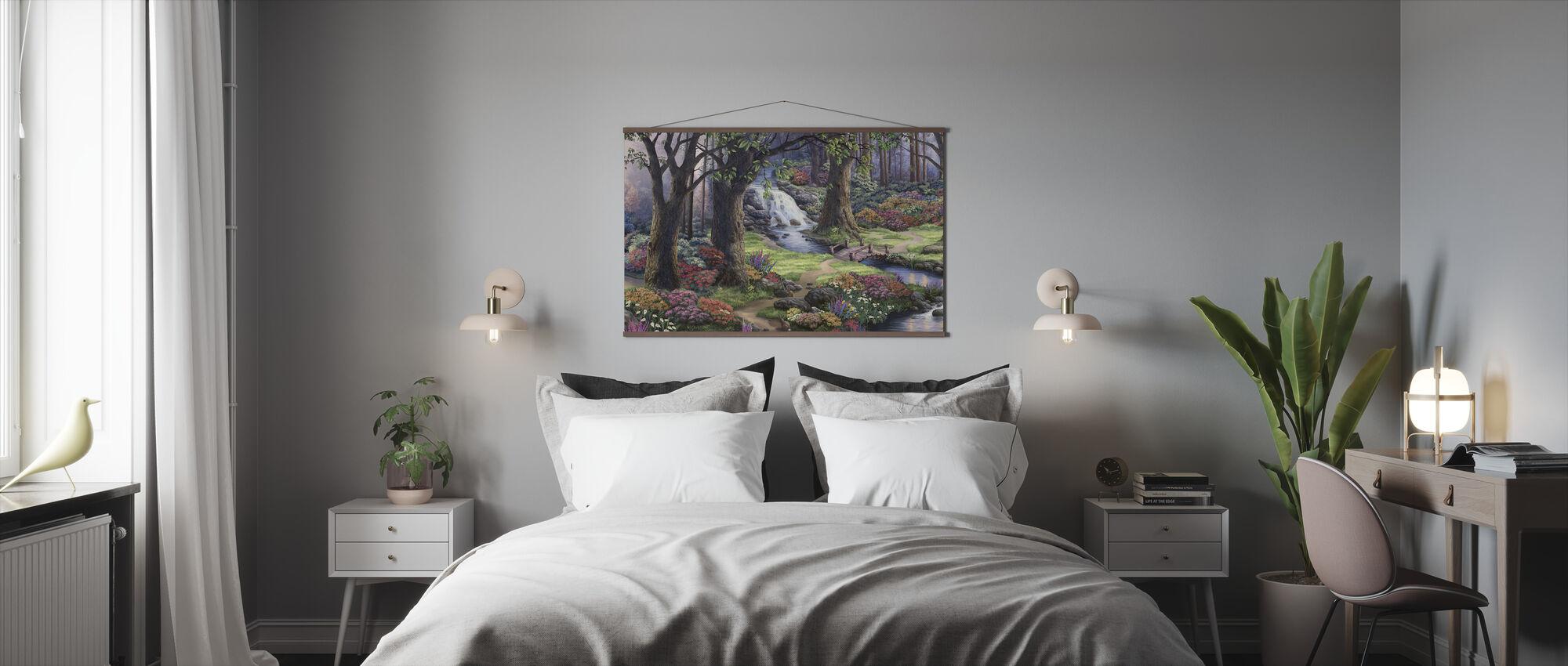 Drømmende landskap - Plakat - Soverom