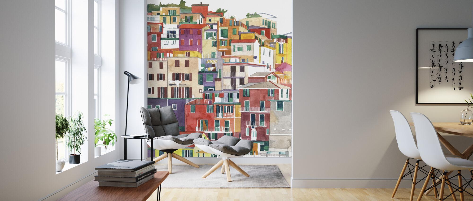 Cinque Terre - Wallpaper - Living Room