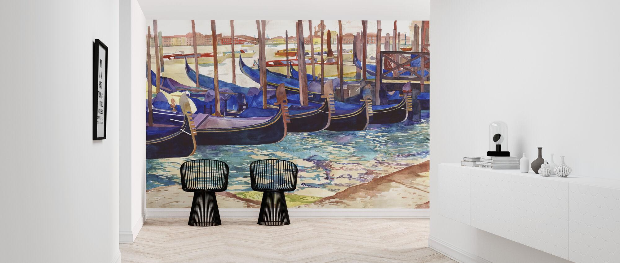 Gondolas in Venice - Wallpaper - Hallway