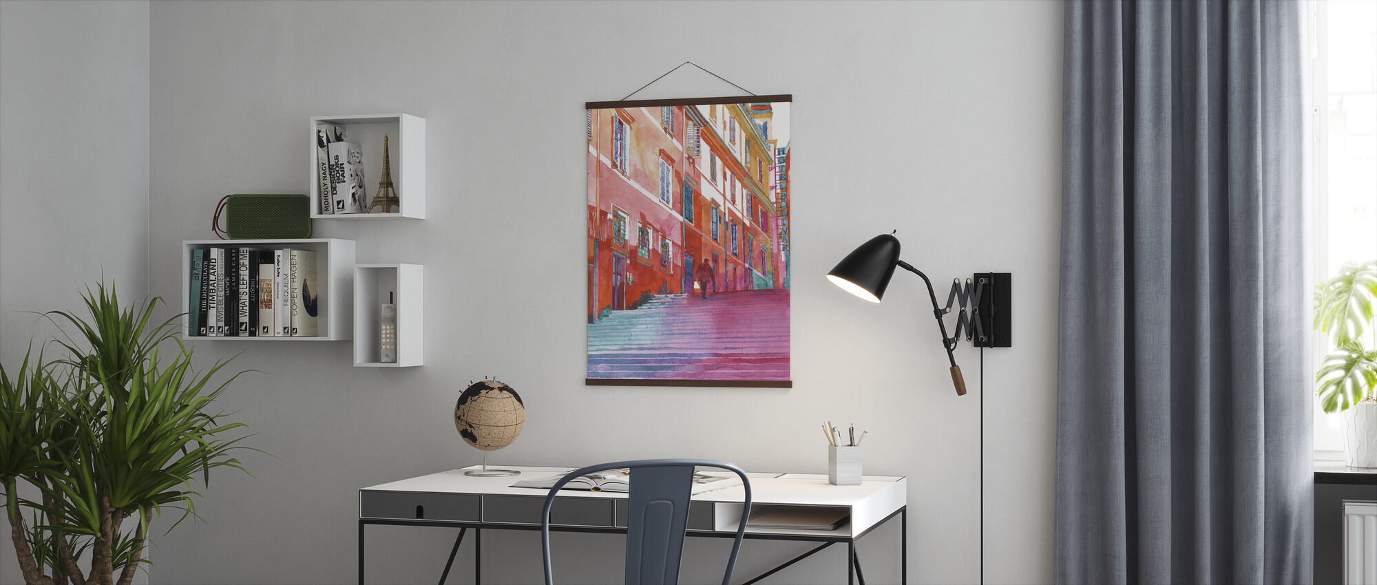 Hotel in Rome - Poster - Office