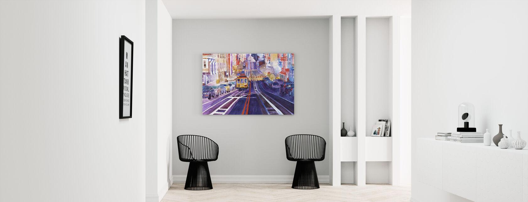 San Fransico - Canvas print - Hallway
